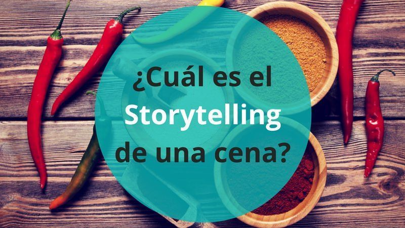 Storytelling gastronómico