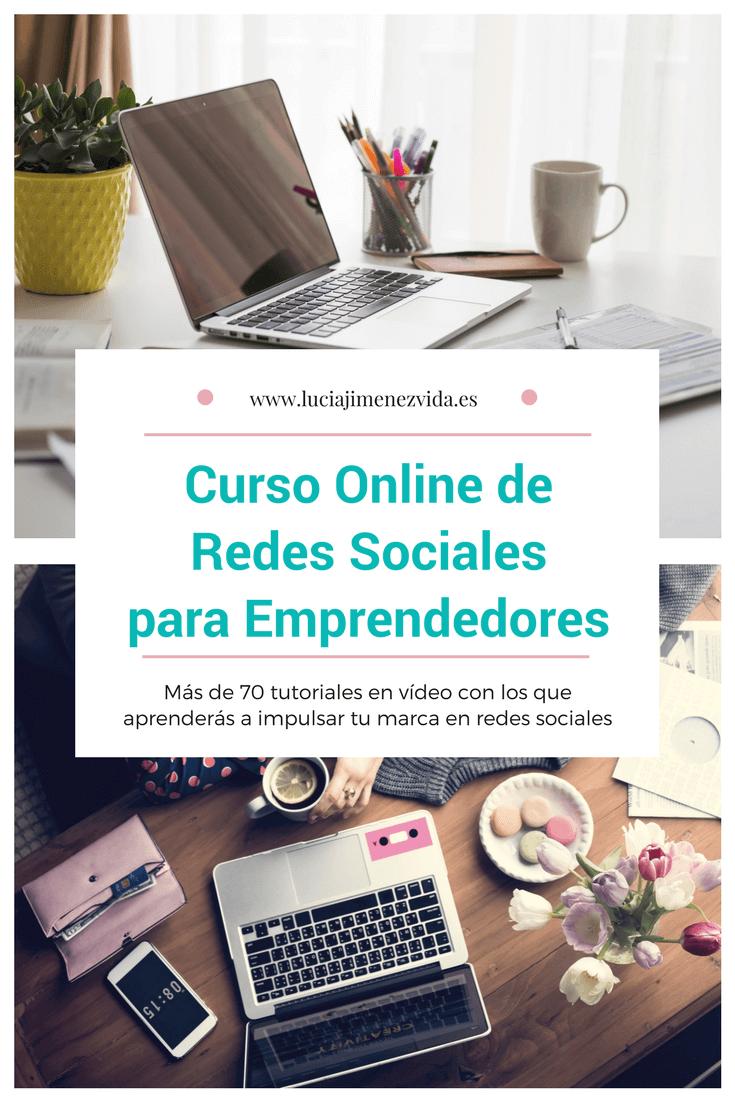 Curso Online de Redes Sociales para Emprendedores