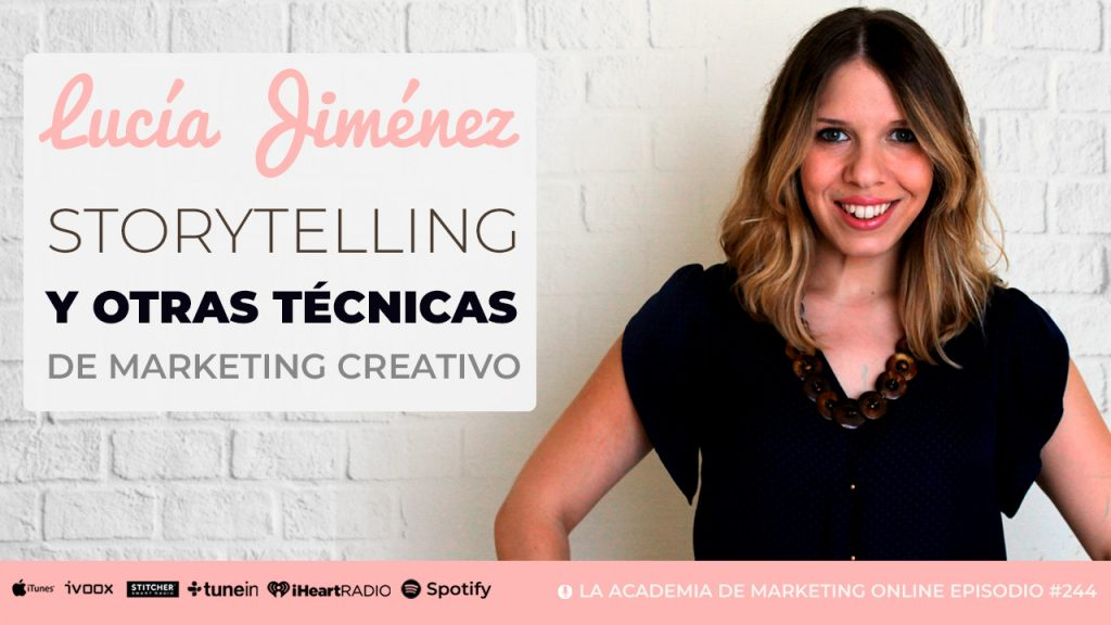 Entrevista de Oscar Feito a Lucía Jiménez Vida sobre Storytelling