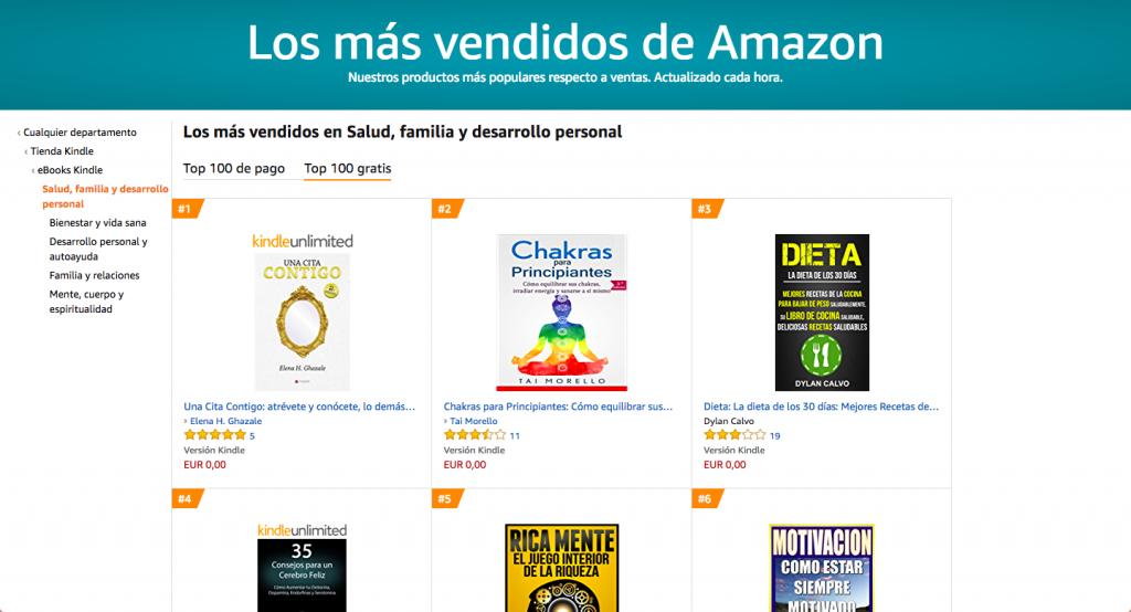 Una Cita Contigo, de Elena H. Ghazale, número 1 en Amazon