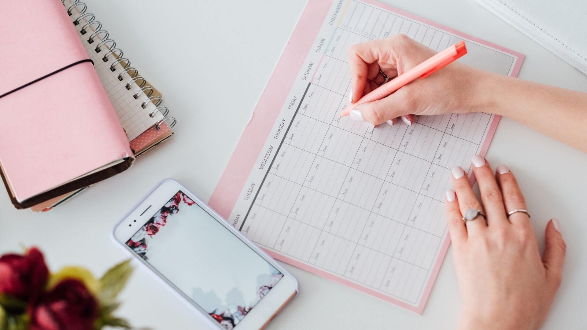 Papelería bonita | Cómo usar tus planificadores