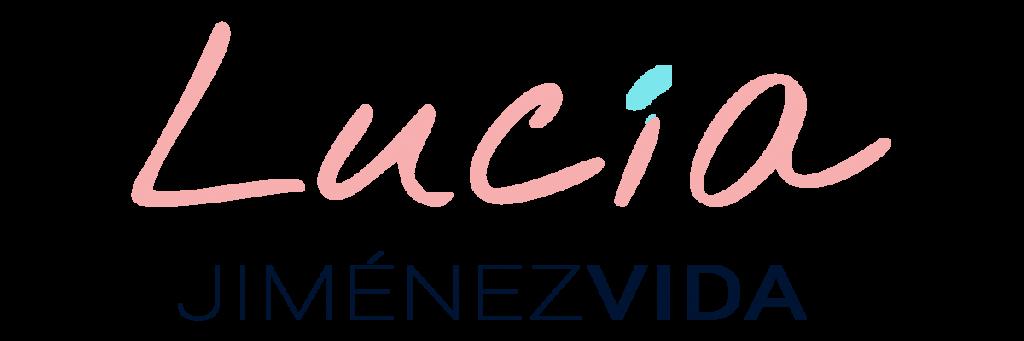 Lucía Jiménez Vida (logotipo)