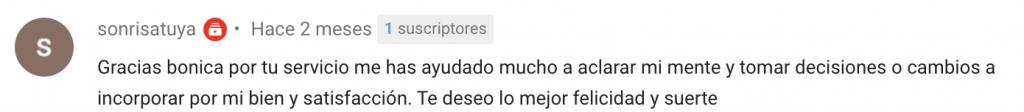 Opiniones sobre Lucía Jiménez Vida