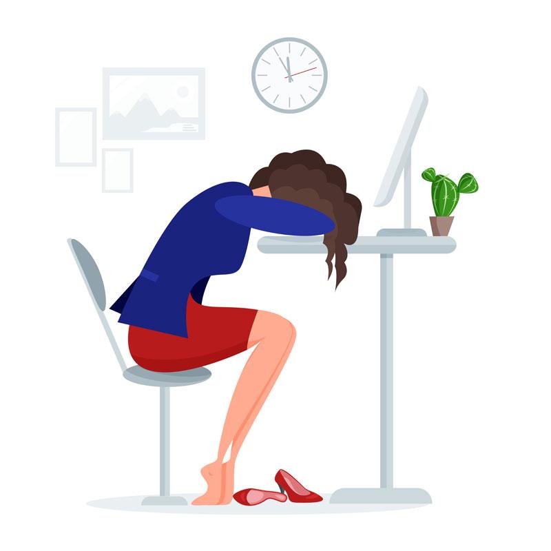 Deja de sentirte agotada